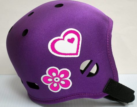 Heart & Flower Helmet