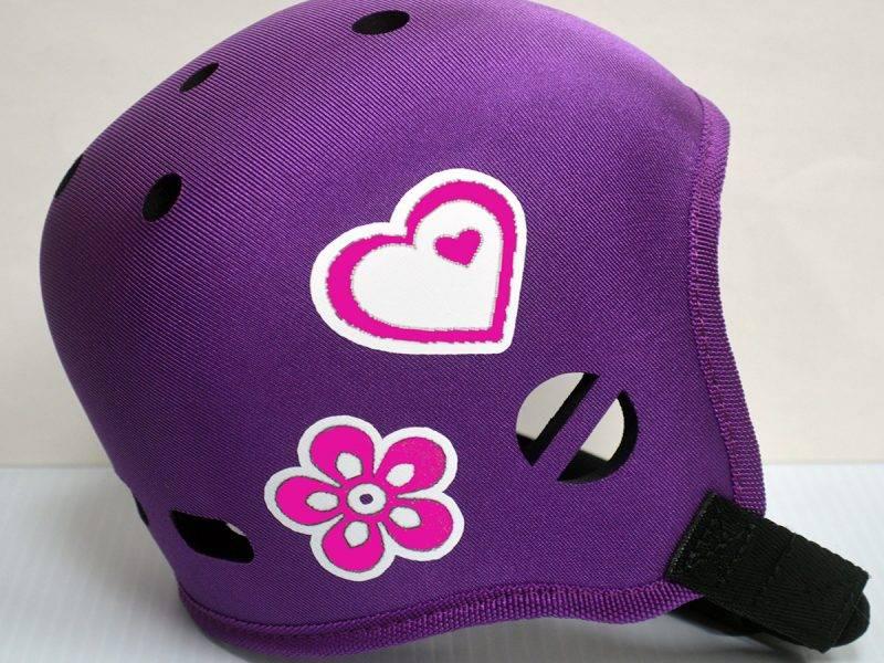 Heart & Flower Helmet